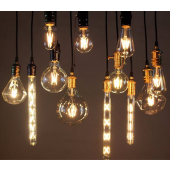 LED filament pirnid E27