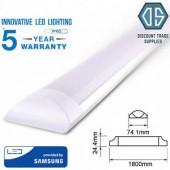 LED laevalgustid Samsungi LEDidega (luminofoortorude asendamiseks)