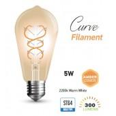 Edisoni pirni LED analoog (painutatud LED filament)