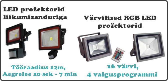 LED pirnid