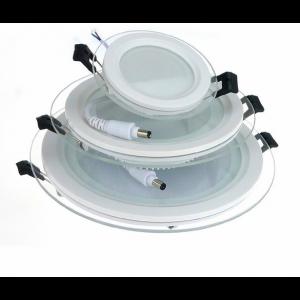 LED minipaneelid klaasist äärisega (valge raam)