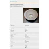 35W LED süvistatav valgusti