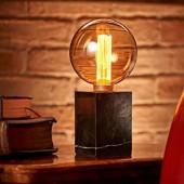 LED pirnid ART merevaigutooni klaasiga