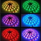 RGB LED ribad 12V & 24V (5m rullid)
