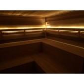 Sooja valgusega ribakomplektid sauna (IP65 või IP68 veekindlus)