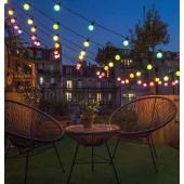 Ilmastikukindel kaabel 20 soe-valge või värvilise LED pirniga