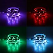 RGB LED ribade komplektid 2-10m (30LED/M, IP20)(12V)